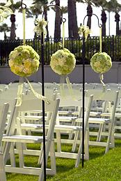 Bruiloft versieringen
