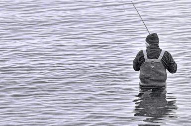 visser in waadpak